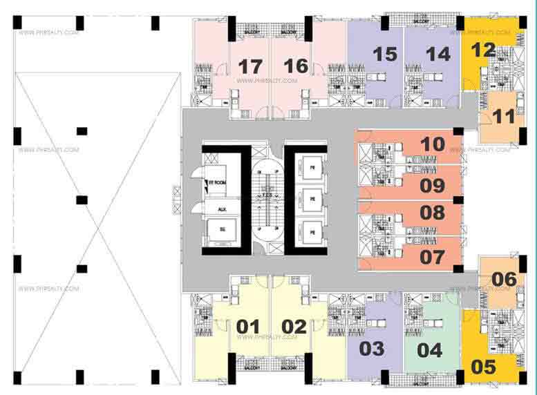 Amenity Floor Plan(5th Plan)