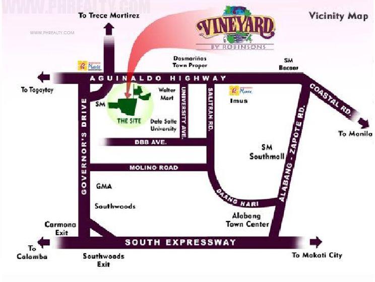 Robinsons Vineyard Location