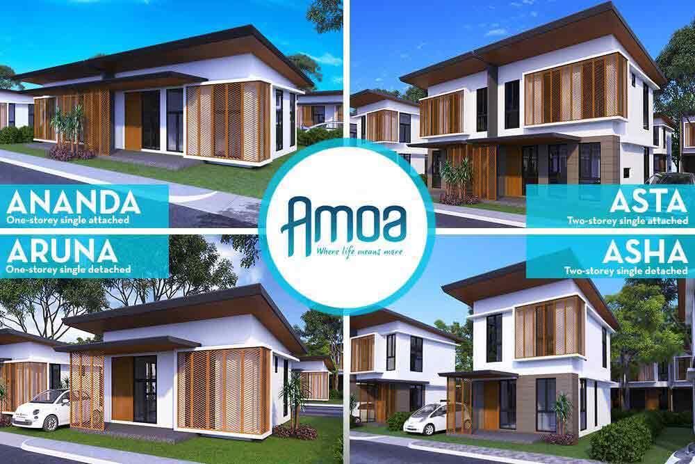 Amoa Cebu- Model Houses