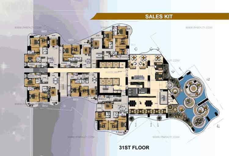 31st Floor Plan