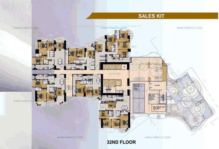 32nd Floor Plan
