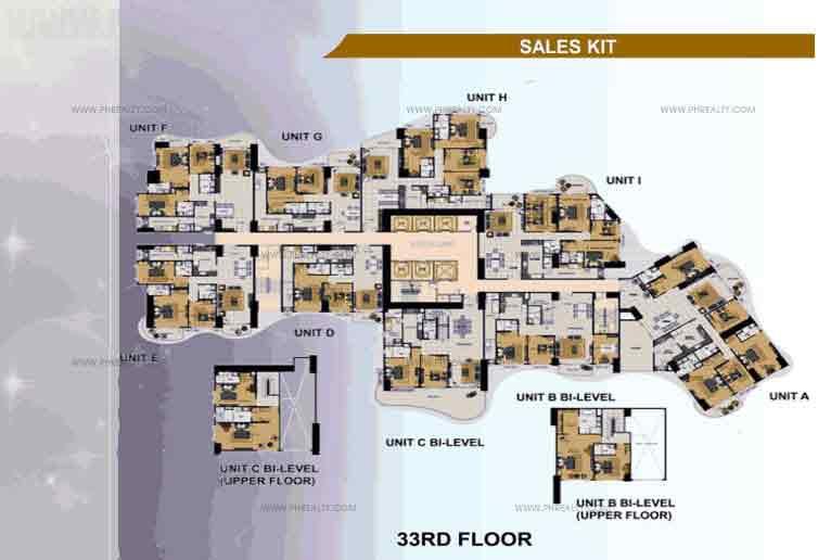 33rd Floor Plan