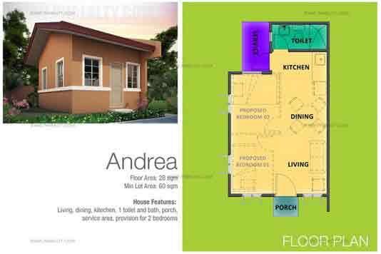 Andrea House Features