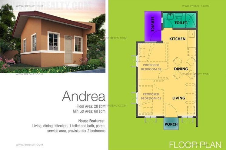 Andrea House Features & Specifications