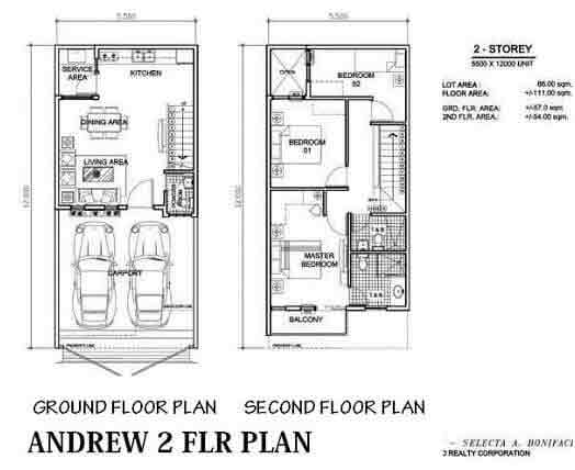 Andrew Floor Plan