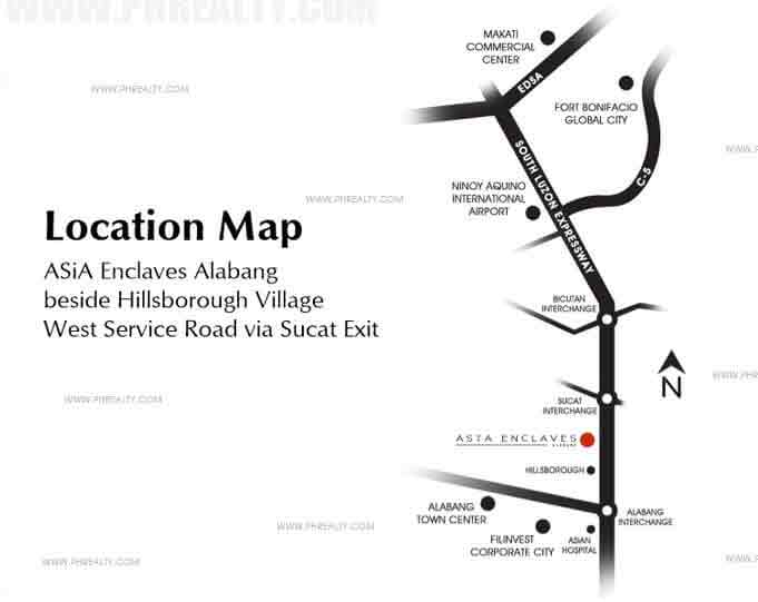 Asya Enclaves Location