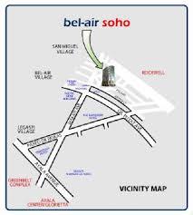 Bel Air Soho Location
