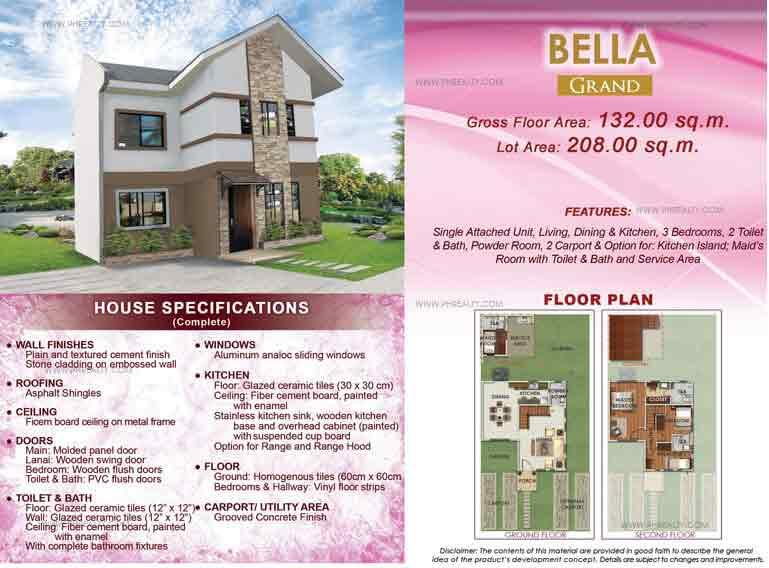 Bella Grand Floor Plan