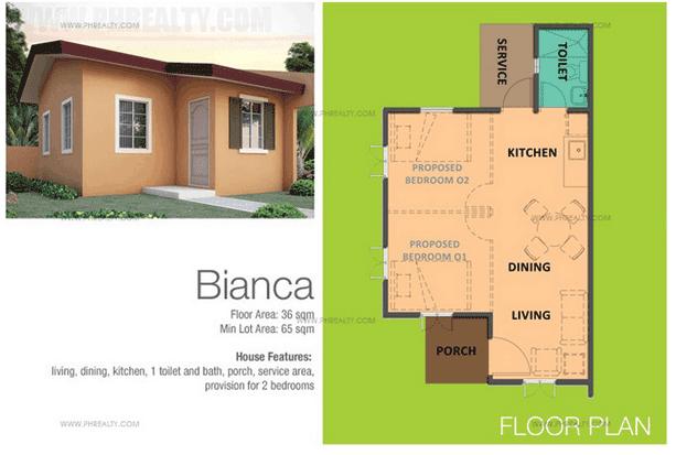 Bianca Floor Plan