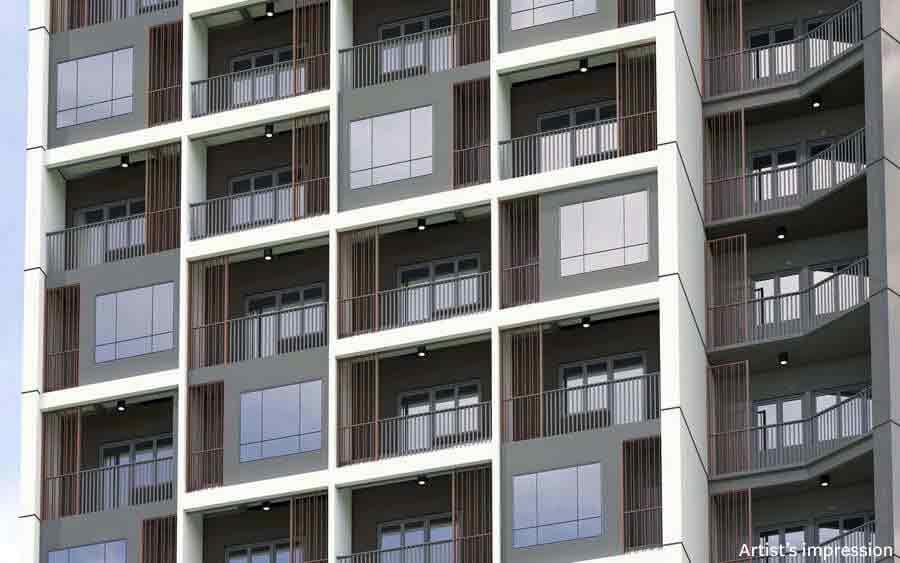 Facade - Balconies