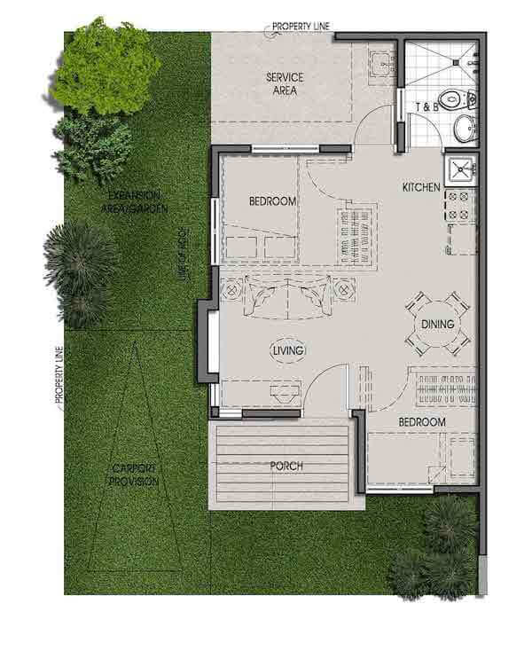 Bungalow Pod Floor Plan