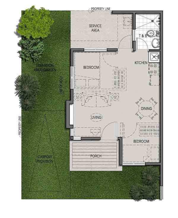 Bungalow Model House