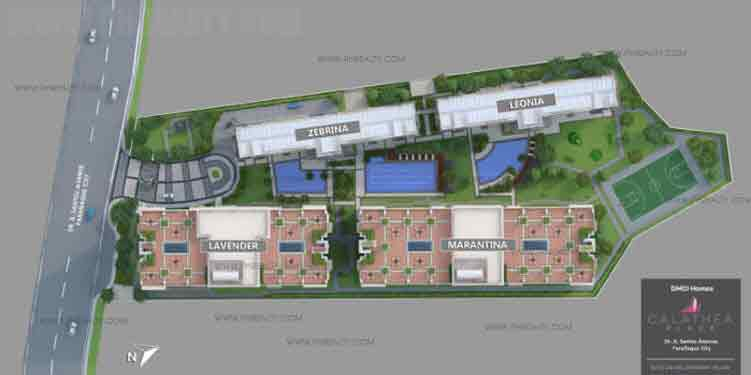 Calathea Place Site Development Plan
