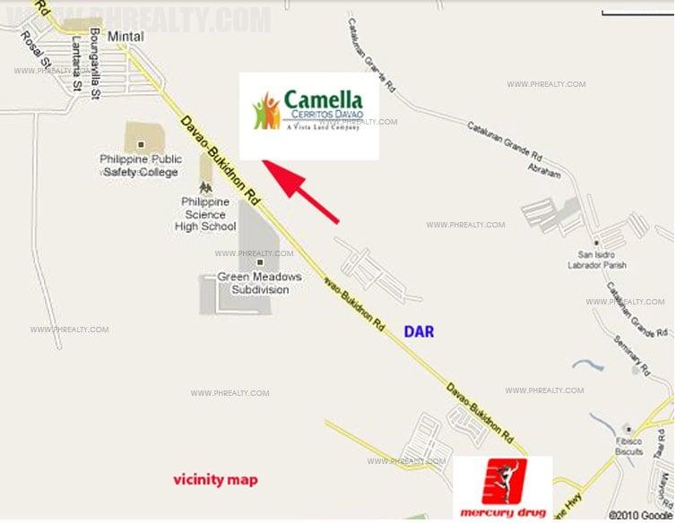 Camella Cerritos Location