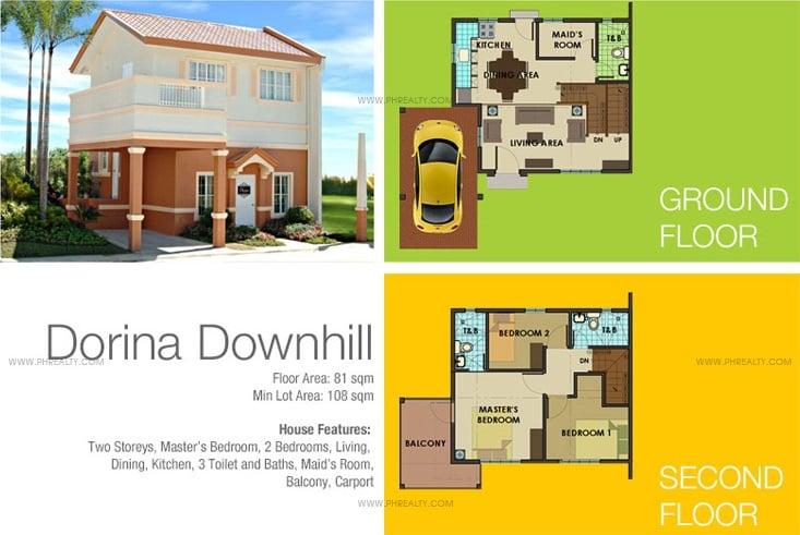 Dorina-DH Floor Plan