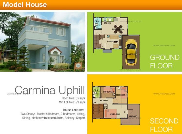 Carmina UH House Floor Plan