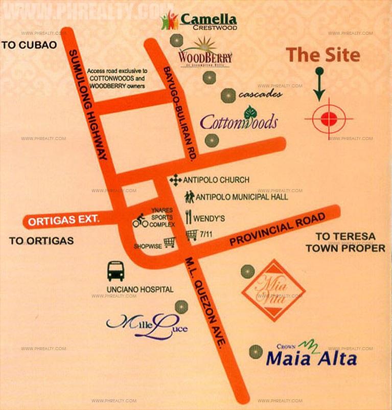 Camella Montego Location