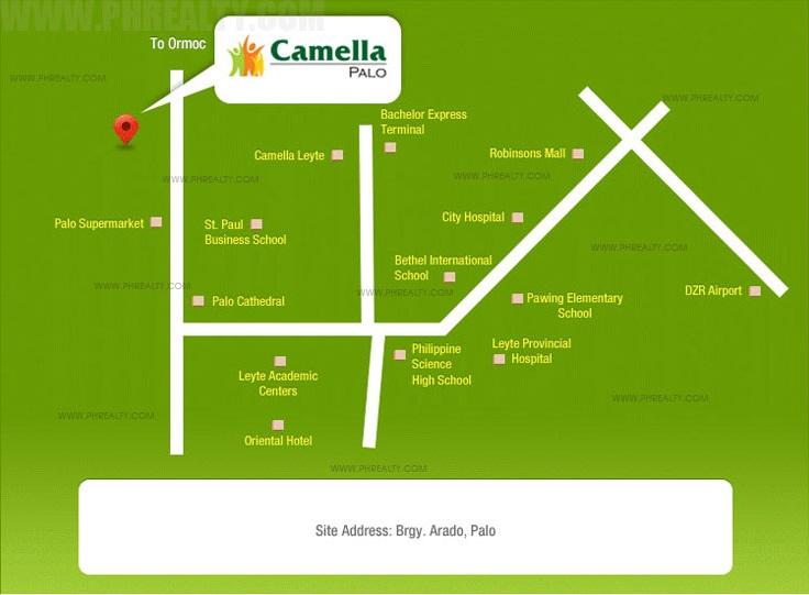Camella Palo Location