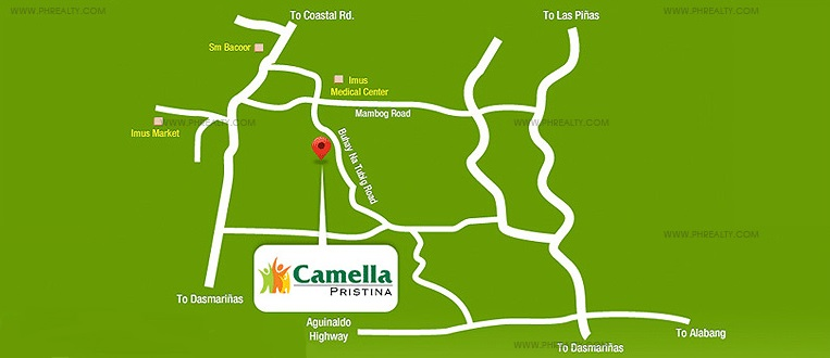 Camella Pristina Location