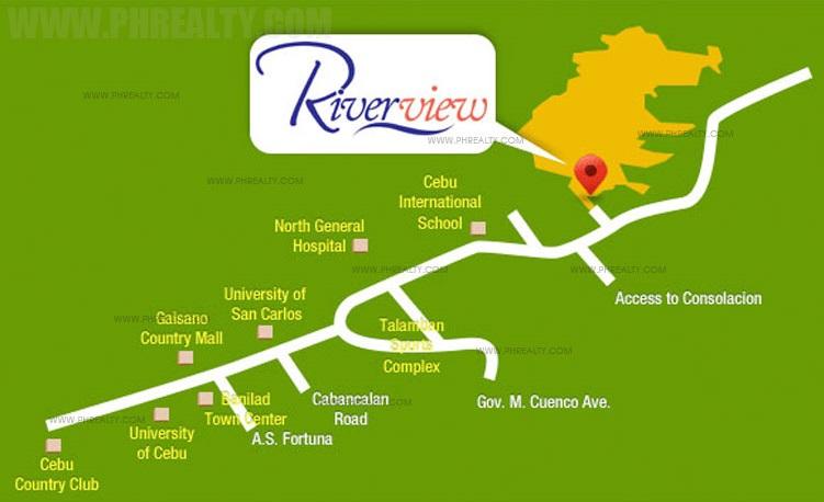 Camella Riverview Location
