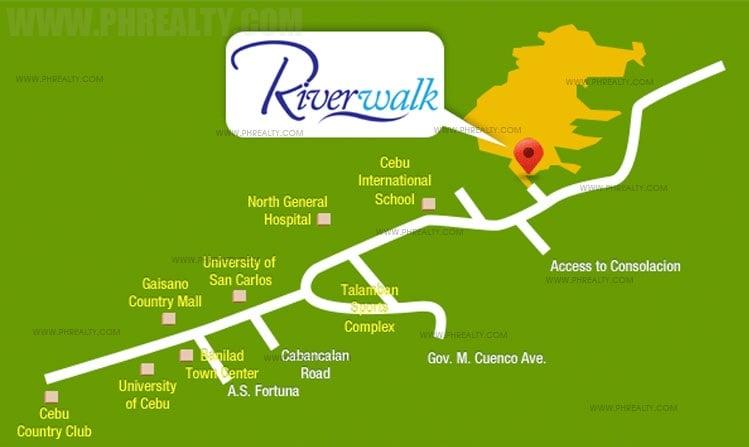 Camella Riverwalk Location