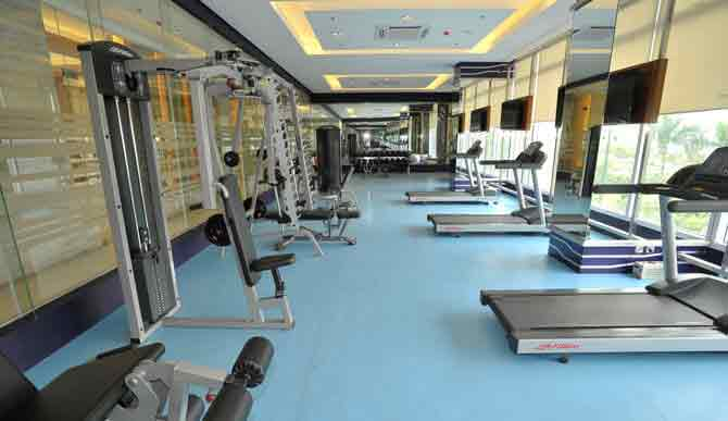 Cardio and Workout Room