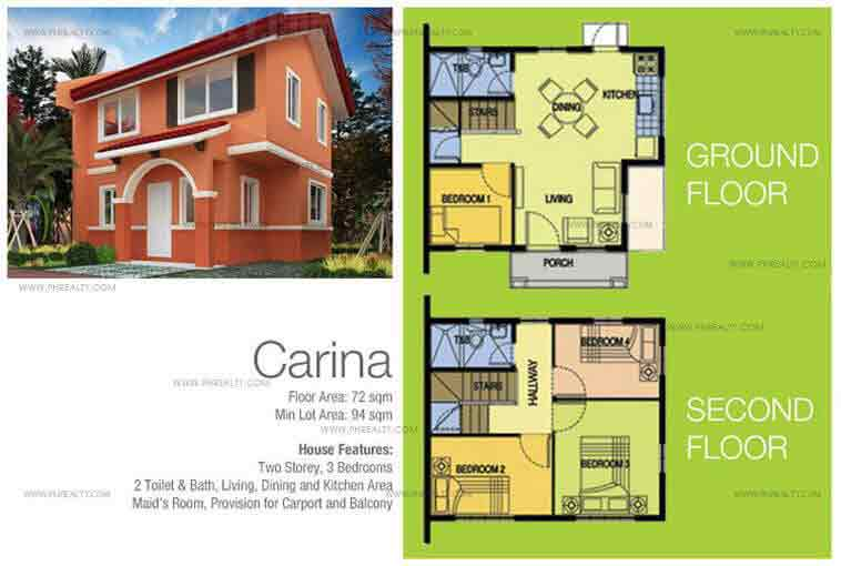 Carina Floor Plan