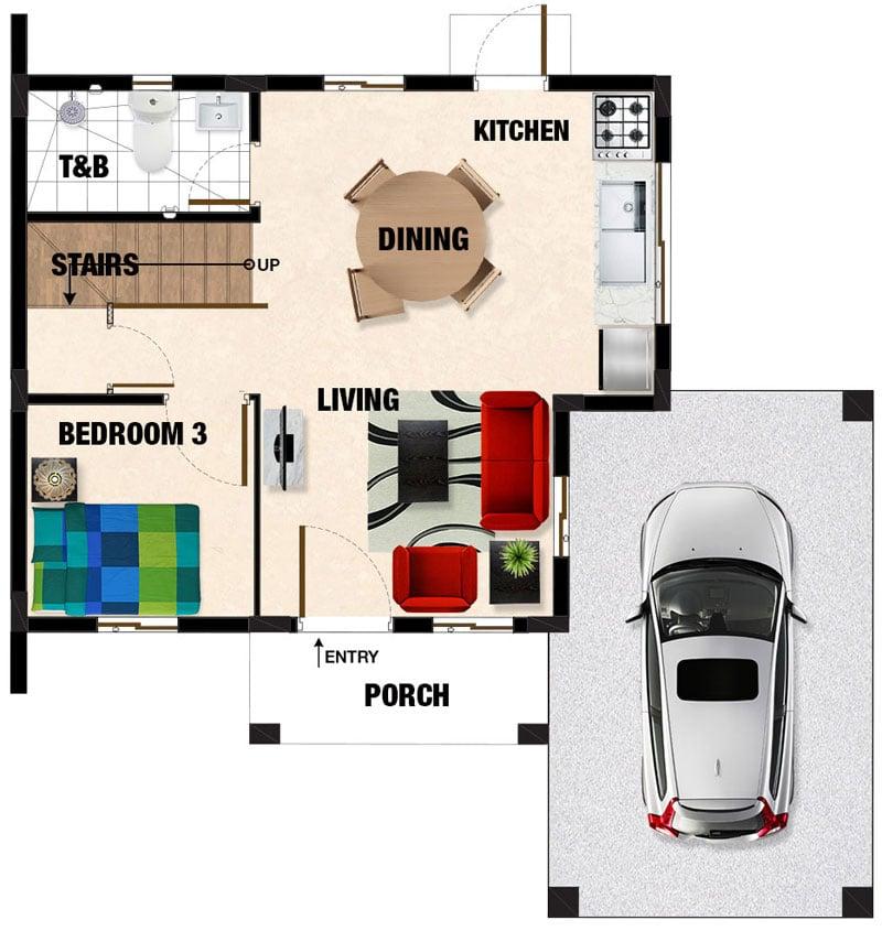 Carina Ground Floor