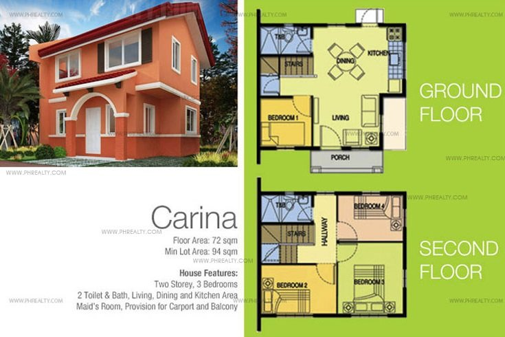 Carina House Features & Specifications