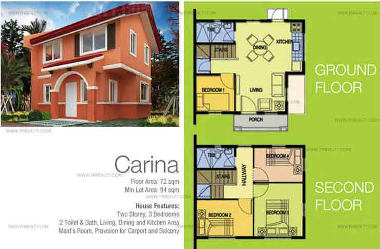 Carina House Features