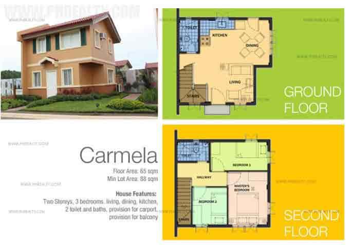 Carmela Floor Plan
