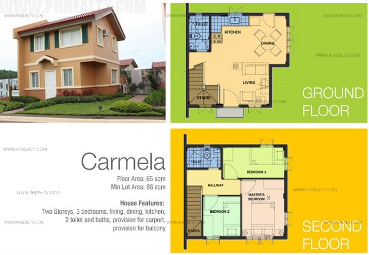 Carmela House Features & Specifications