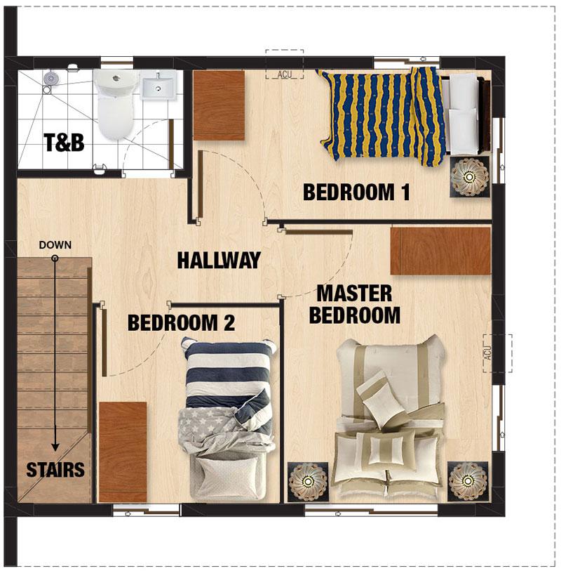 Carmela Second Floor Plan