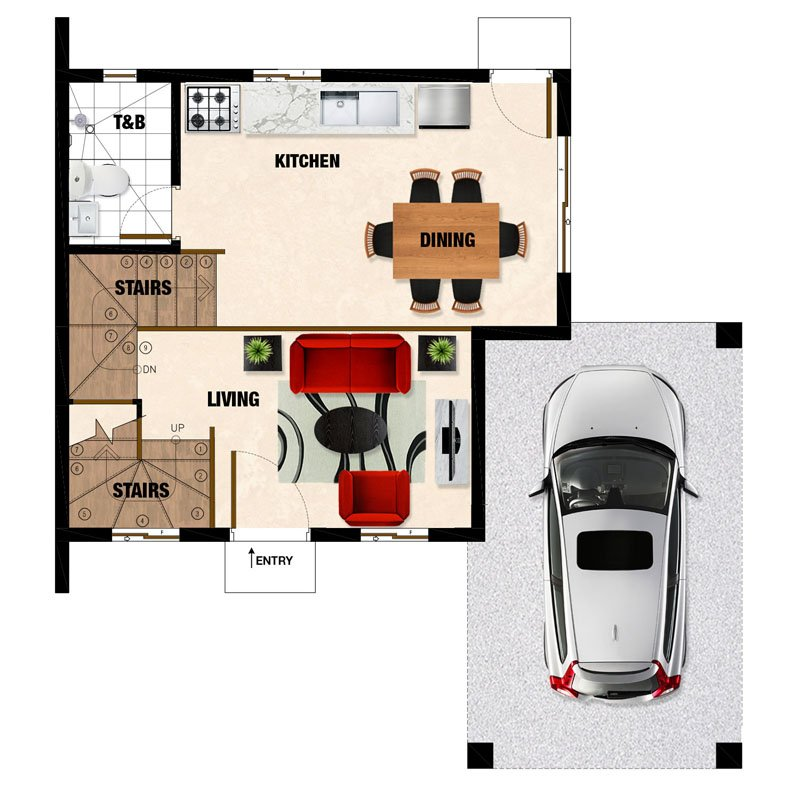 Carmina-UH Ground Floor Plan