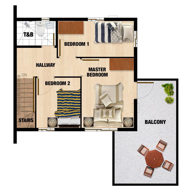 Carmina-UH Second Floor Plan