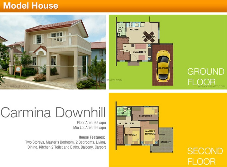 Carmina Down Hill House Features & Specifications