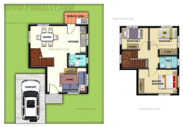 Celina Floor Plan