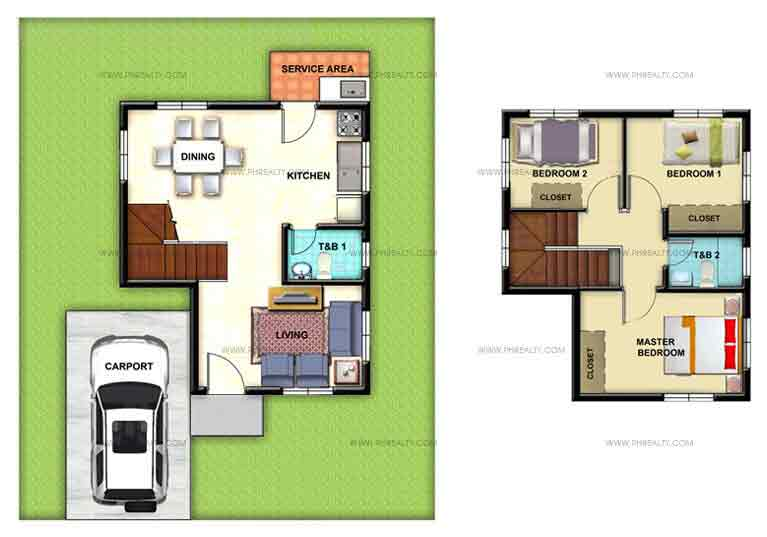 Celina Floor Plan