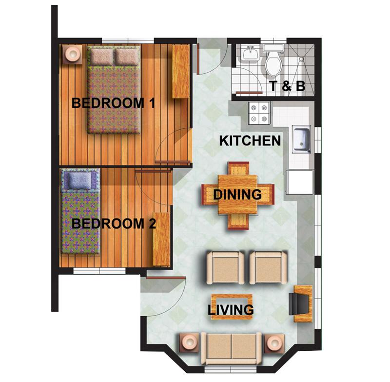Chamomile Floor Plan
