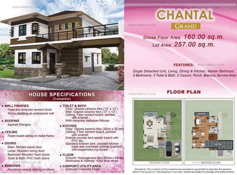Chantal Grand Floor Plan