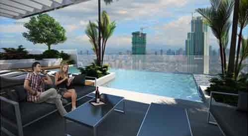 Covered Pool Lounge