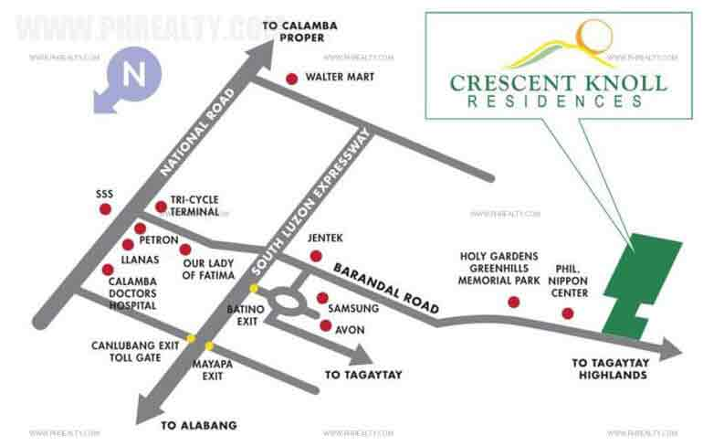 Crescent Knoll Residences Location