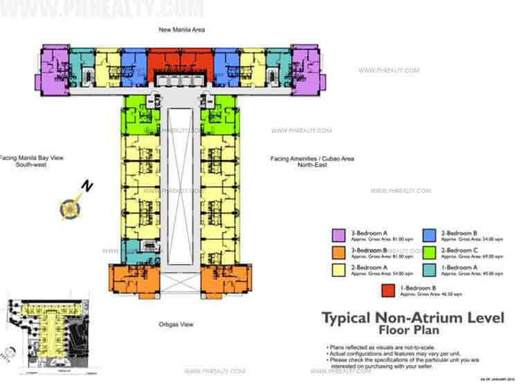 Typical Non Atrium Level Floor Plan