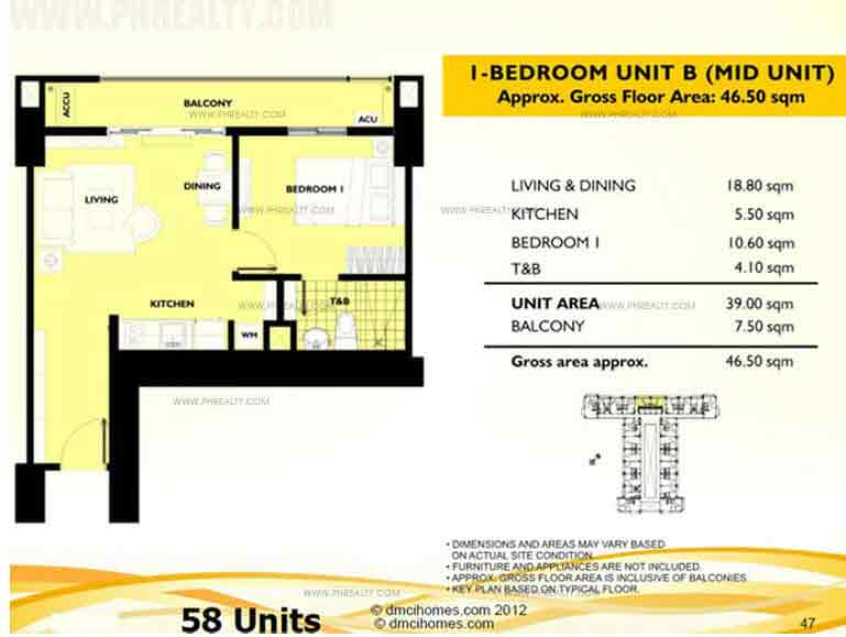 Unit B 1 Bedroom