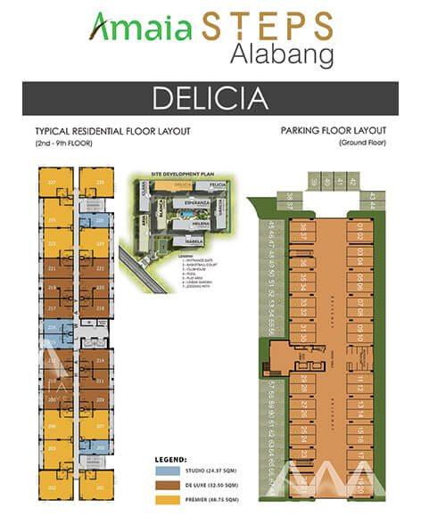 Delicia Floor Plan