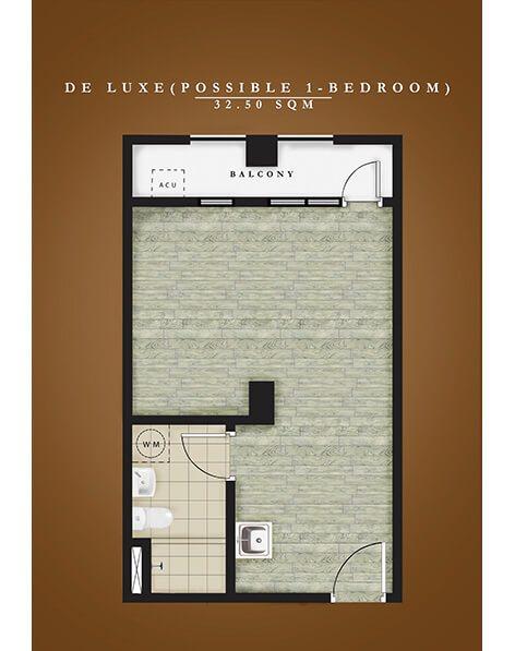 Deluxe Unit Floor Plan