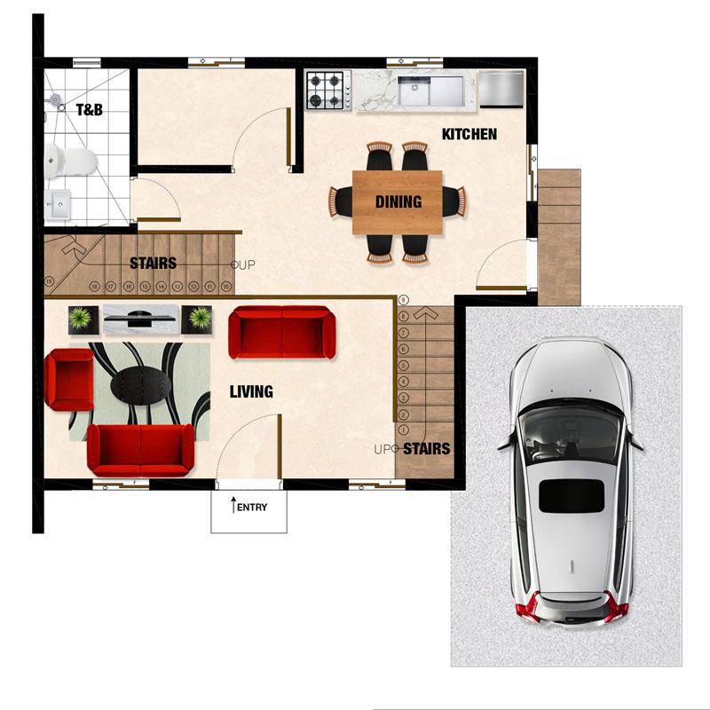 Dorina-DH Ground Plan