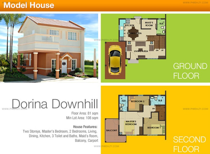 Dorina Down Hill House Features & Specifications