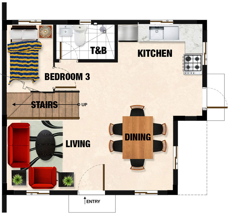Drina Ground Floor