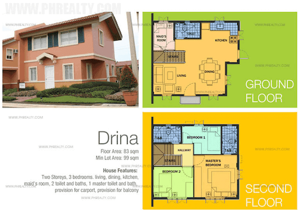 Drina Floor Plan